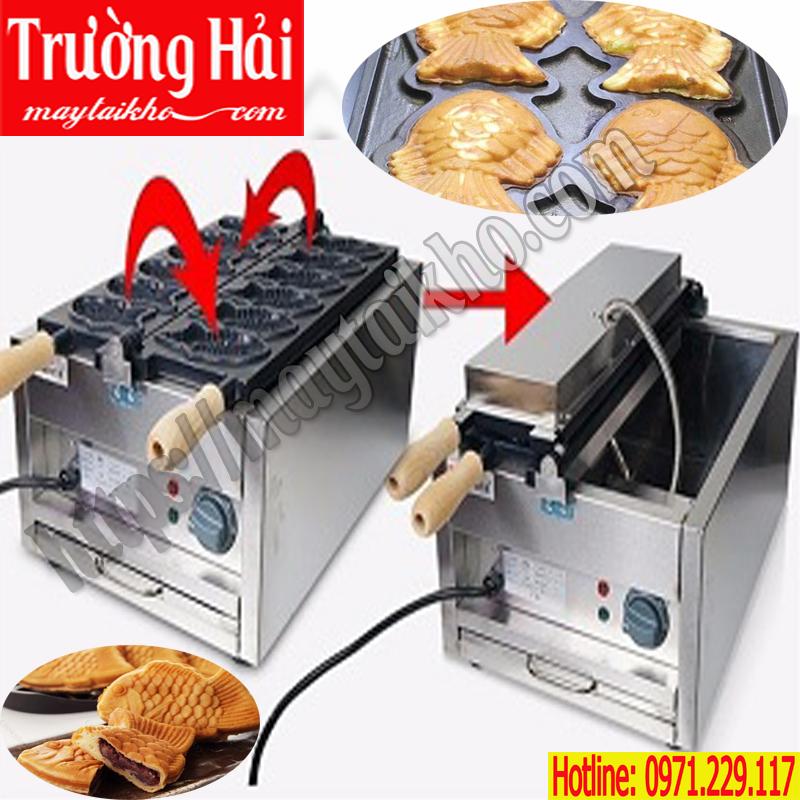 Máy làm bánh con cá công nghiệp loại to