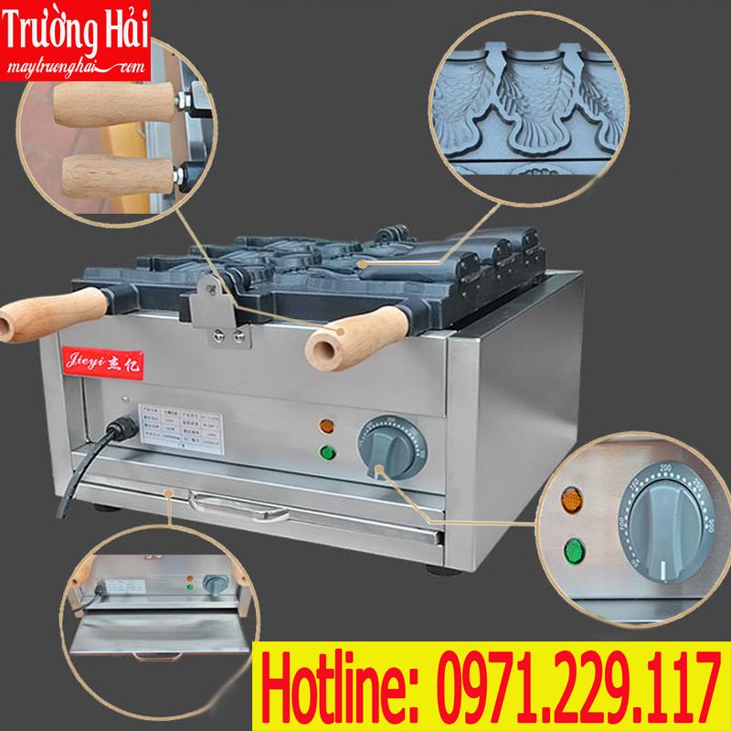 Cấu tạo máy làm bánh cá đựng kem